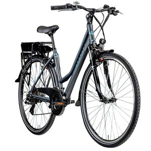 Zündapp Green 7.7 E-Bike 700c Trekkingrad Damen 28 Zoll Pedelec