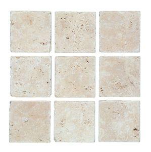 Fliese Travertin Naturstein beige Fliese Chiaro Antique Travertin MOSF-45-46079