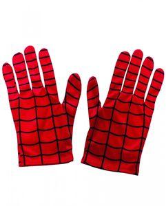 Spider-Man Handschuhe für Kinder als Kostümzubehör von Marvel Comics