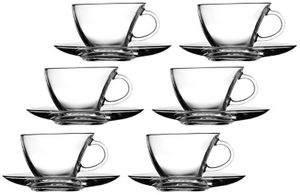 12tlg. Set Espressotassen mit Unterteller Penguen / Assam