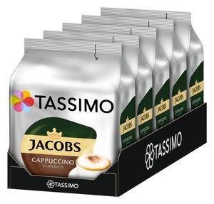 Tassimo Jacobs Cappuccino Classico (5 x 8 Getränke)