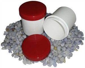 25 Salbendosen, Salbendose 20 g 25 ml Deckel rot