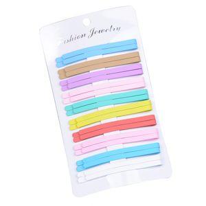 20 Stücke Frauen Mädchen Haarspange Haarnadel Haarspange Stift Haarschmuck Mehrfarbig Regenbogen Haarklammer wie beschrieben