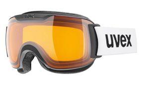 UVEX - Skibrille Downhill 2000 S Race - Frameless - 100% UV Schutz - Farbe: Black/Lasergold S1