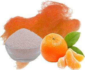 Aromazucker für bunte Zuckerwatte mit Geschmack | Apfelsine - Orange 100g | Farbzucker Zucker für Zuckerwatte Zuckerwattemaschine Zuckerwattezucker