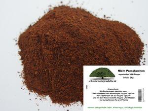 Niempresskuchen 2kg organischer NPK Dünger  fein gemahlener Presskuchen