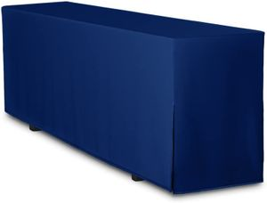 Biertisch-Husse Premium für Bierzeltgarnitur Festzeltgarnitur 220x70 cm in Blau (nur Tisch)