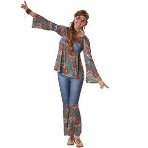 dressforfun Frauenkostüm Hippie Girl Harmony - XXL