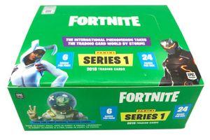 Panini Fortnite Series 1 Trading Cards - Hobby-Box mit 24 Flowpacks