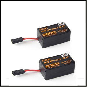 2Pcs 11,1 V 2000 mAh Wiederaufladbar Batterie Für Parrot AR.Drone 2.0 Quadcopter