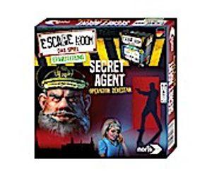 Noris Spiele Noris Escape Room Secret Agent - Operation Zekestan - 16 Jahr(e) - 60 min - Deutsch - CE - Box - 10 Stück(e)