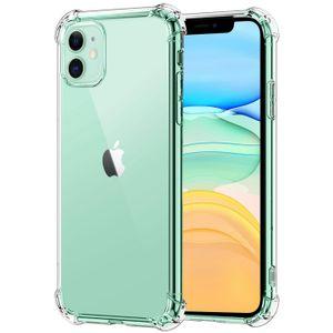Hülle für Apple iPhone 11 Schutzhülle Anti Shock Handy Case Transparent Cover