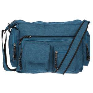 Christian Wippermann Damenhandtasche Schultertasche Tasche Umhängetasche Shopper Crossover Bag Türkis