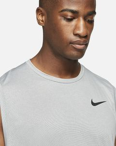 Nike M Np Df Hpr Dry Top Tank Particle Grey/Grey Fog/Htr L