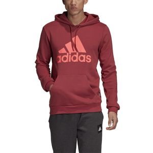 Adidas Mh Badge Of Sport Pullover French Terry Legacy Red L