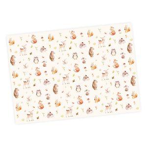 5 Bögen Geschenkpapier Waldtiere - 1,60€/qm - 84,1 x 59,4 cm