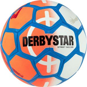 DERBYSTAR Street Soccer Fußball 2020 orange/weiß/blau 5
