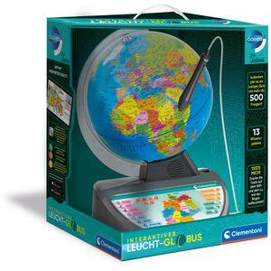 Clementoni Interaktiver Leucht-Globus, Lernspaß, Leuchtender Bogen, interaktiv