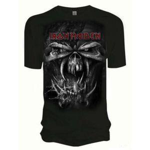 Iron Maiden Final Frontier Eddie Vintage Mens T Shirt: La