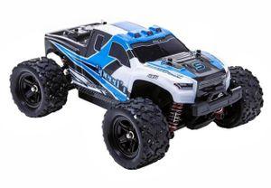 Blij´r Speed´r Blau ferngesteuertes RC Auto 45 km/h, 1:18, 2 Akkus, 4x4 Allrad, 100m Reichweite, Monstertruck RTR Buggy Fahrzeug Truck ferngesteuert Modellauto