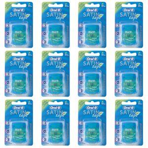 Oral-B Satin Tape mint Zahnseide 25m, 12er Pack (12x 25m)