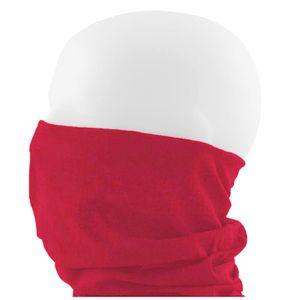 Oblique Unique Multifunktionstuch Schlauchtuch Halstuch Motorrad - Pure Red