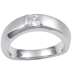 Fossil Damen Ring Silber JF14631040, Größe:18
