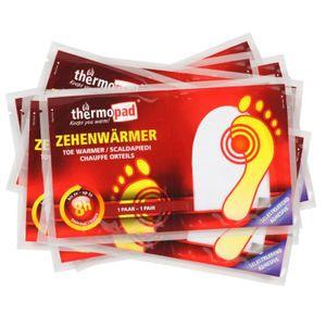 Thermopad Zehenwärmer - 10 Paar - Fußwärmer - 8h Wärme