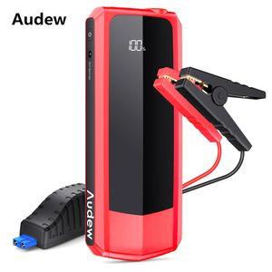 AUDEW 155 Auto-Starthilfe LCD-Leistungsanzeige Spitzenstrom 1500A Kapazität 20000mAh