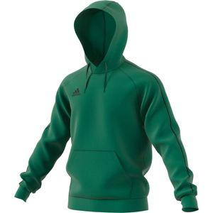 adidas Core 18 Hoodie Kinder - grün 164