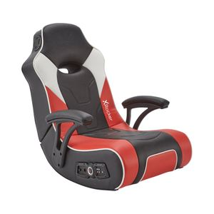 X Rocker G-Force 2.1 Gaming Sessel mit 2.1 Soundsystem in Rot/Schwarz