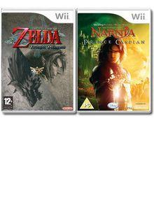 Legend of Zelda: Twilight Princess+Chronicles of Narnia
