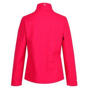 Regatta Softshelljacke  Damen Jacke Carby Wasserabweisend und Winddicht, Farbe:Pink, Damen Größen:42