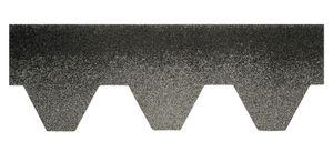 Bitumenschindeln Dachschindeln Hexagonal Schindel Dachpappe Bitumen Glasvlies grau 3,00 m²