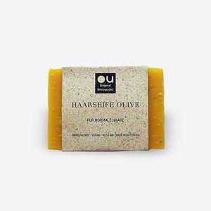 OU Fair Trade Haarseife Olive