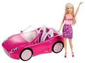 Barbie Puppe mit Cabrio