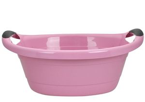 Wanne Haushaltswanne Wäschewanne Wäschekorb Babywanne Aufbewahrungsbox 14 o. 25L, Farbe:Pink / Rosa, Fassungsvermögen:25L
