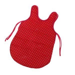 Miniatur Einteiliger Schlafsack Weste Reisetasche für 18 Zoll Puppen rot wie beschrieben Puppe Schlafsack