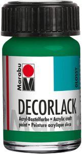 "Marabu Acryllack ""Decorlack"", saftgrün, 15 ml, im Glas"