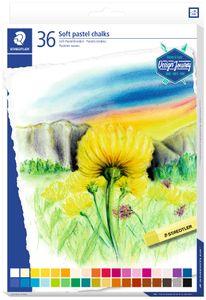 STAEDTLER Soft-Pastellkreide Design Journey 36er Kartonetui