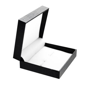 1 Stück Manschettenknopf Box (Manschettenknöpfe Krawattenklammer nicht enthalten) Farbe Manschettenknöpfe Box