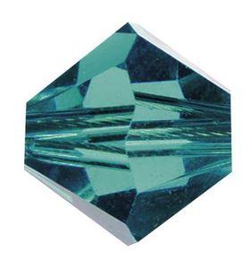 Swarovski-Perlen, Ø 4mm, 25 Stück Indicolite