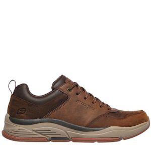 Skechers Benago - Treno - Braun Glattleder Größe: 43 Normal