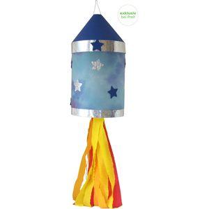 Laternen Bastelset Rakete, 4 Stück