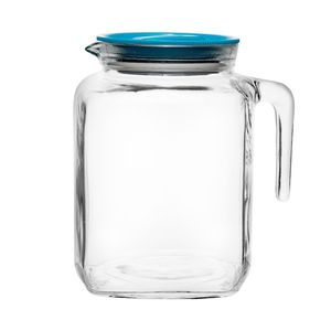Teekanne Teekrug Glas Glaskanne Saftkanne Wasserkanne  BORMIOLI ROCCO 2 L