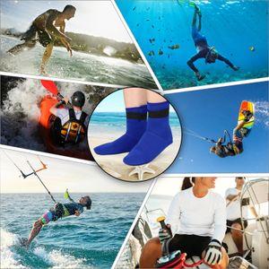 Tauchsocken 3MM Neopren Schwimmsocken Badebekleidung Warme Schnorchelstrš¹mpfe zum Schwimmen am Strand Tauchen Surfen Schnorcheln
