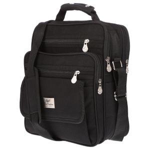 Christian Wippermann große Herren Damen Tasche Umhängetasche Flugbegleiter Arbeitstasche Messenger XL