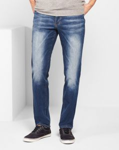Mustang Tramper Tapered be flexible Jeans, W31 - to - W46 / Used Wash, Größe*:W33 L32