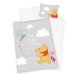 Disney Bettwäsche Winnie Pooh  Babybettwäsche 100 x 135 cm