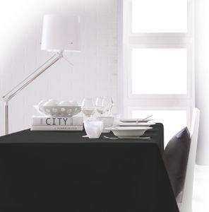 Tischdecke 150x250cm Schwarz